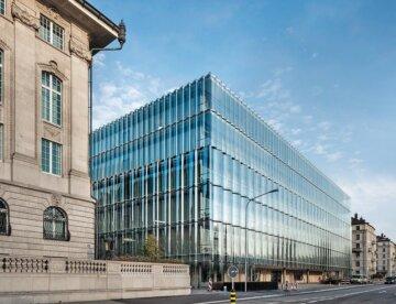 SwissRe Next Gebäude Zürich