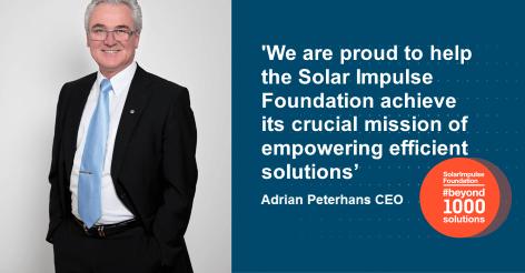Solar Impulse Statement CEO Adrian Peterhans Clean Air Enterprise