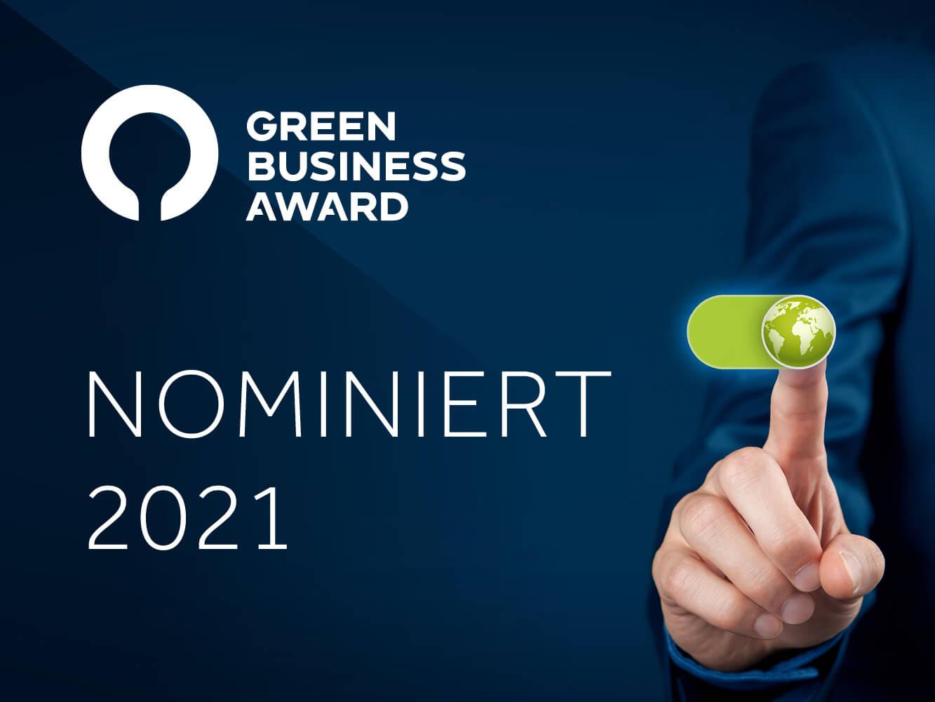 Nomination Clean Air Enterprise «Green Business Award»